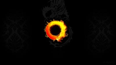 version two of our 4k hd amd ryzen fire dragon wallpaper
