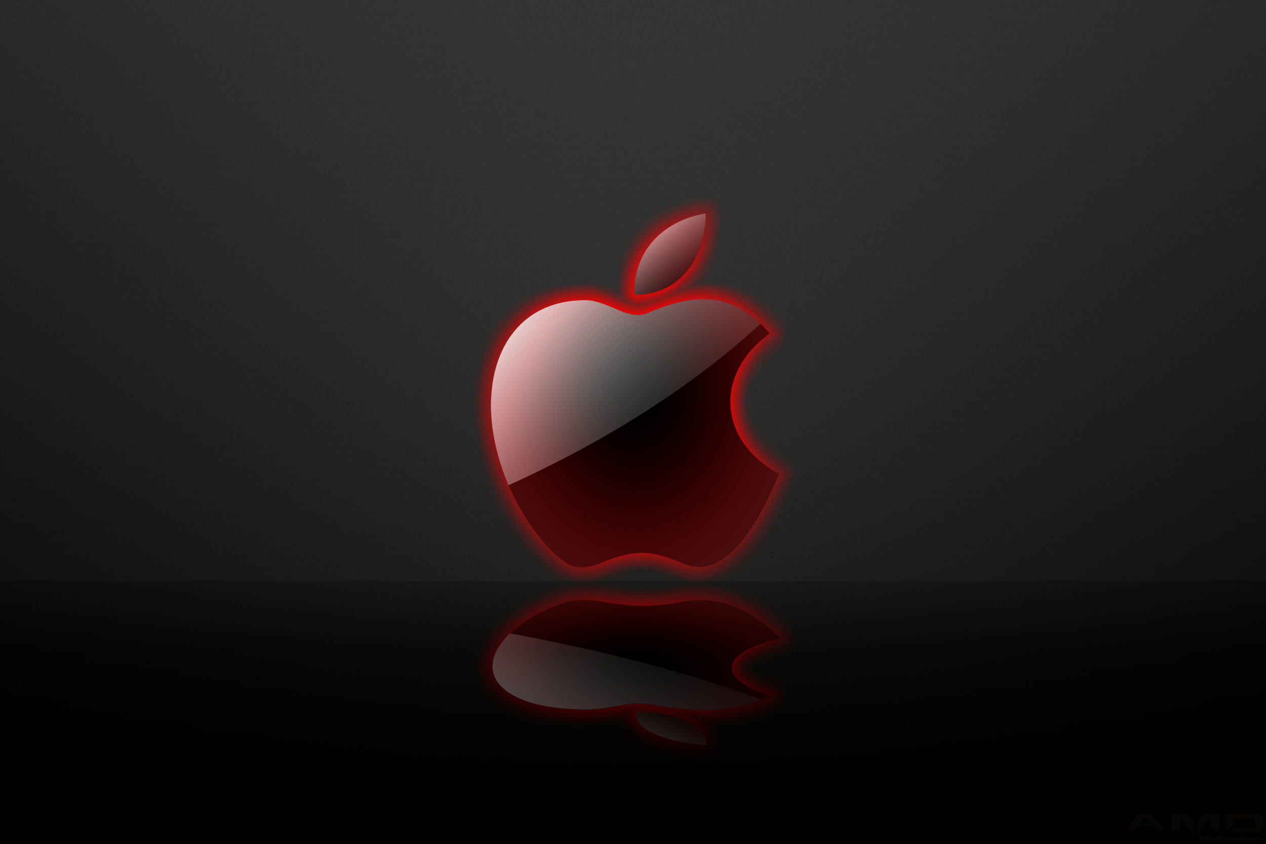 High res wallpapers that i made guru3d forums - Red apple wallpaper ...
